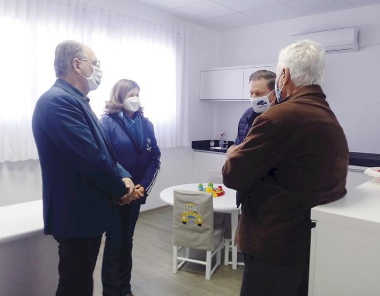 'Apae de Três de Maio é modelo para o país', afirma o presidente da Federação das  Apaes do Rio Grande do Sul