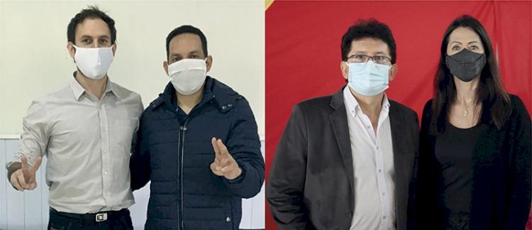 Marcos Corso e Altair Copatti são os  candidatos ao Executivo municipal