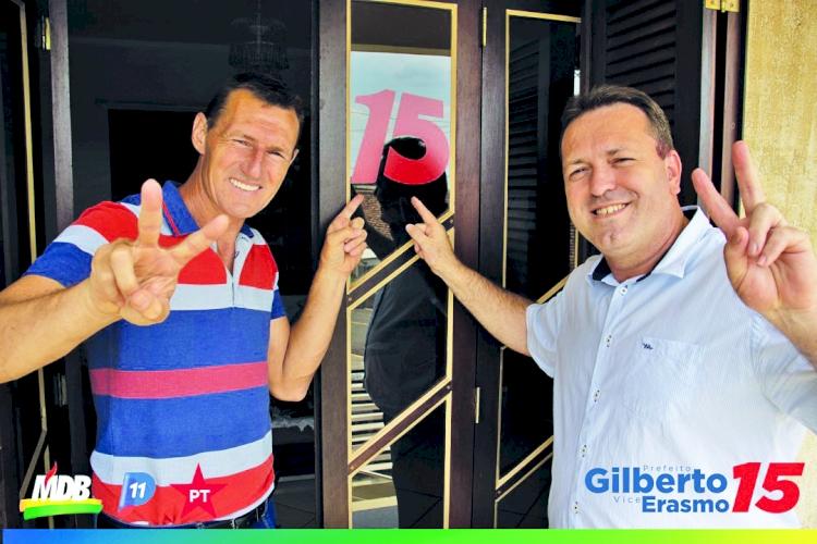 'Não irá faltar empenho e dedicação para que  São José mantenha o caminho do desenvolvimento', diz prefeito reeleito Gilberto Hammes