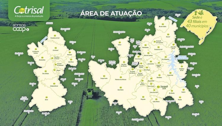 Cotrisal vai investir R$ 25 milhões na região Noroeste