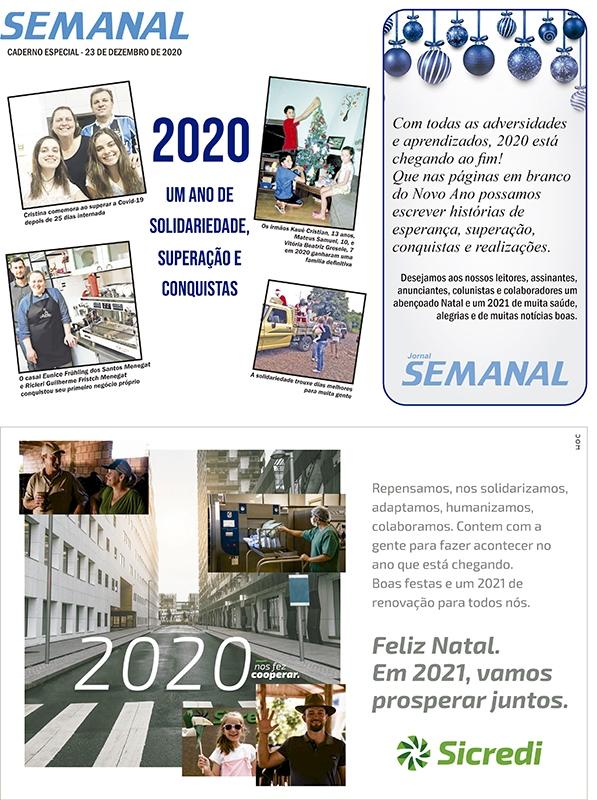 Caderno Especial de Natal 2020