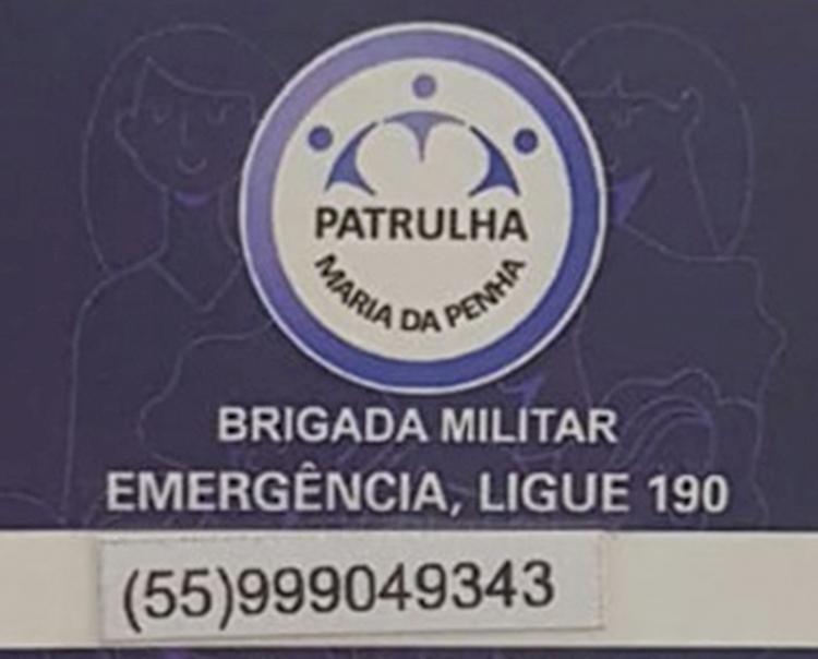 Patrulha Maria da Penha realizou mais  de 60 atendimentos em janeiro