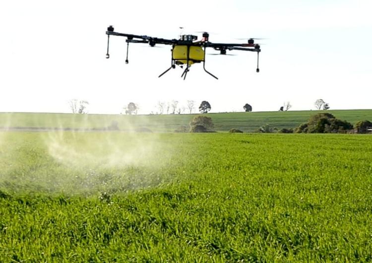 Unitec lança curso de pulverização aérea com drones