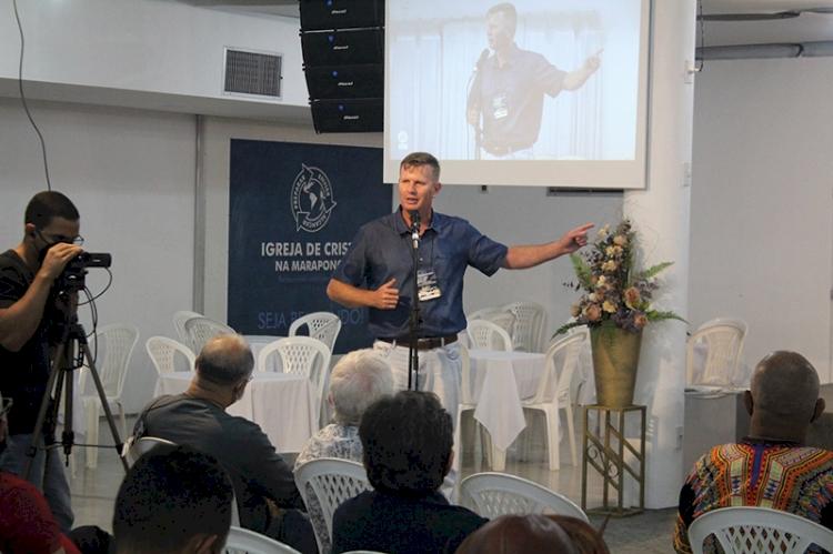 Pastor Márcio é eleito vice-presidente do Conselho Nacional das Igrejas de Cristo no Brasil