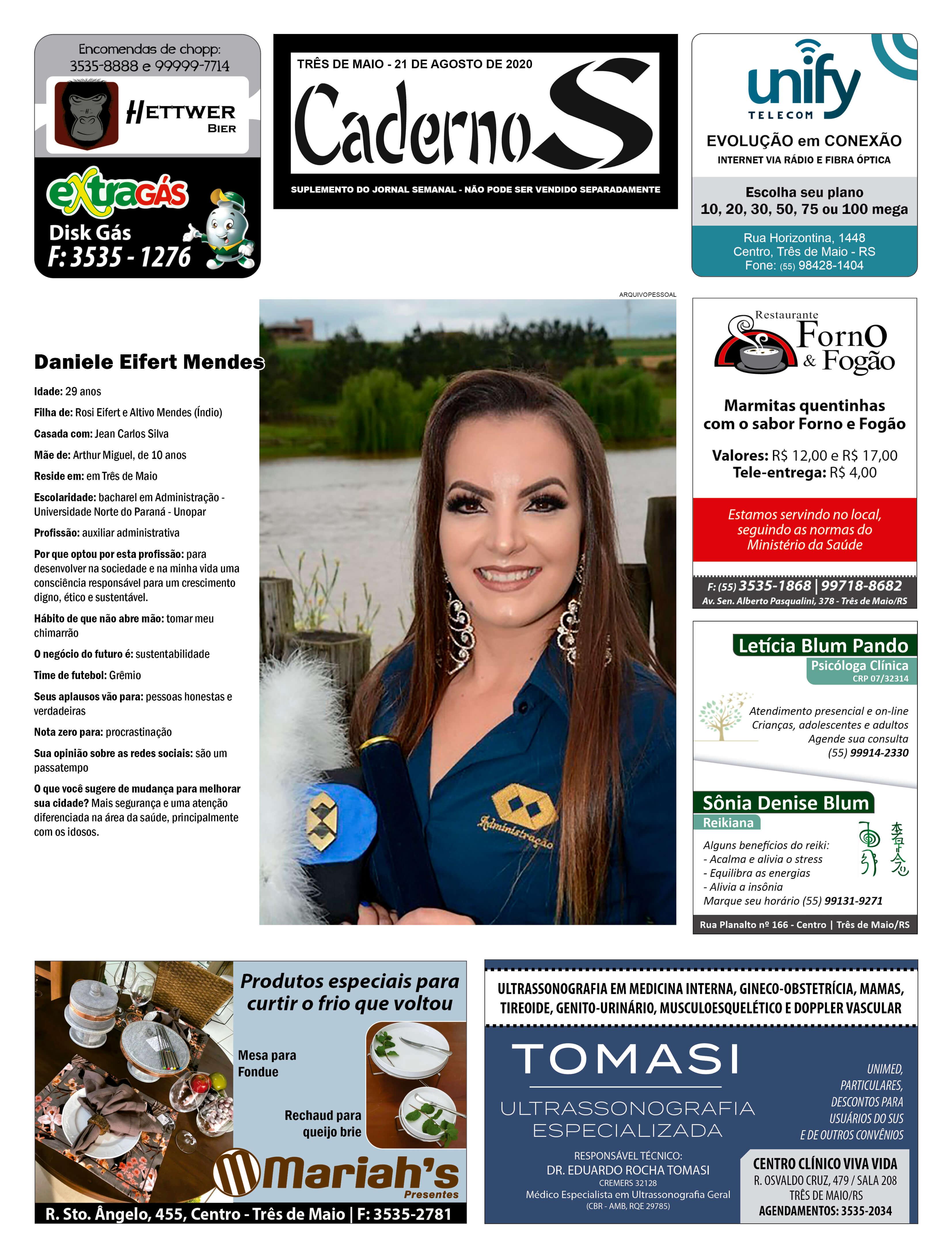 Edição 21 de agosto de 2020