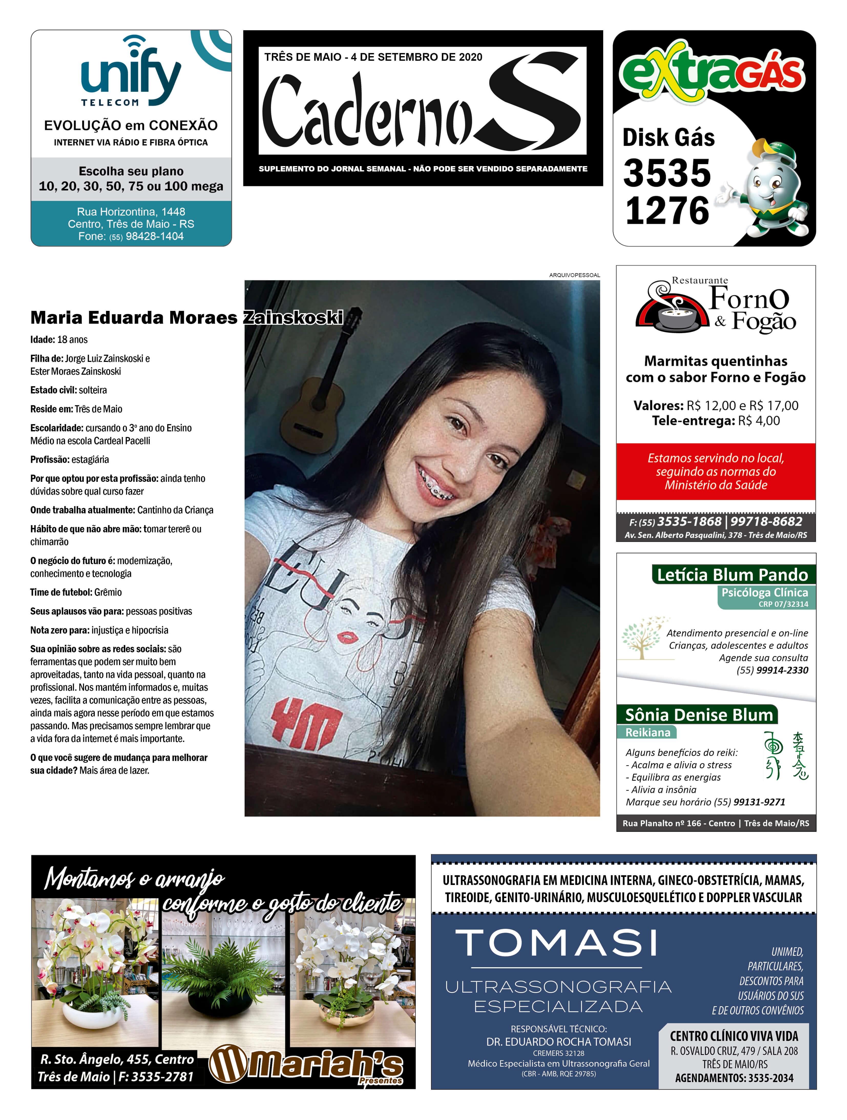 Edição 4 de setembro de 2020