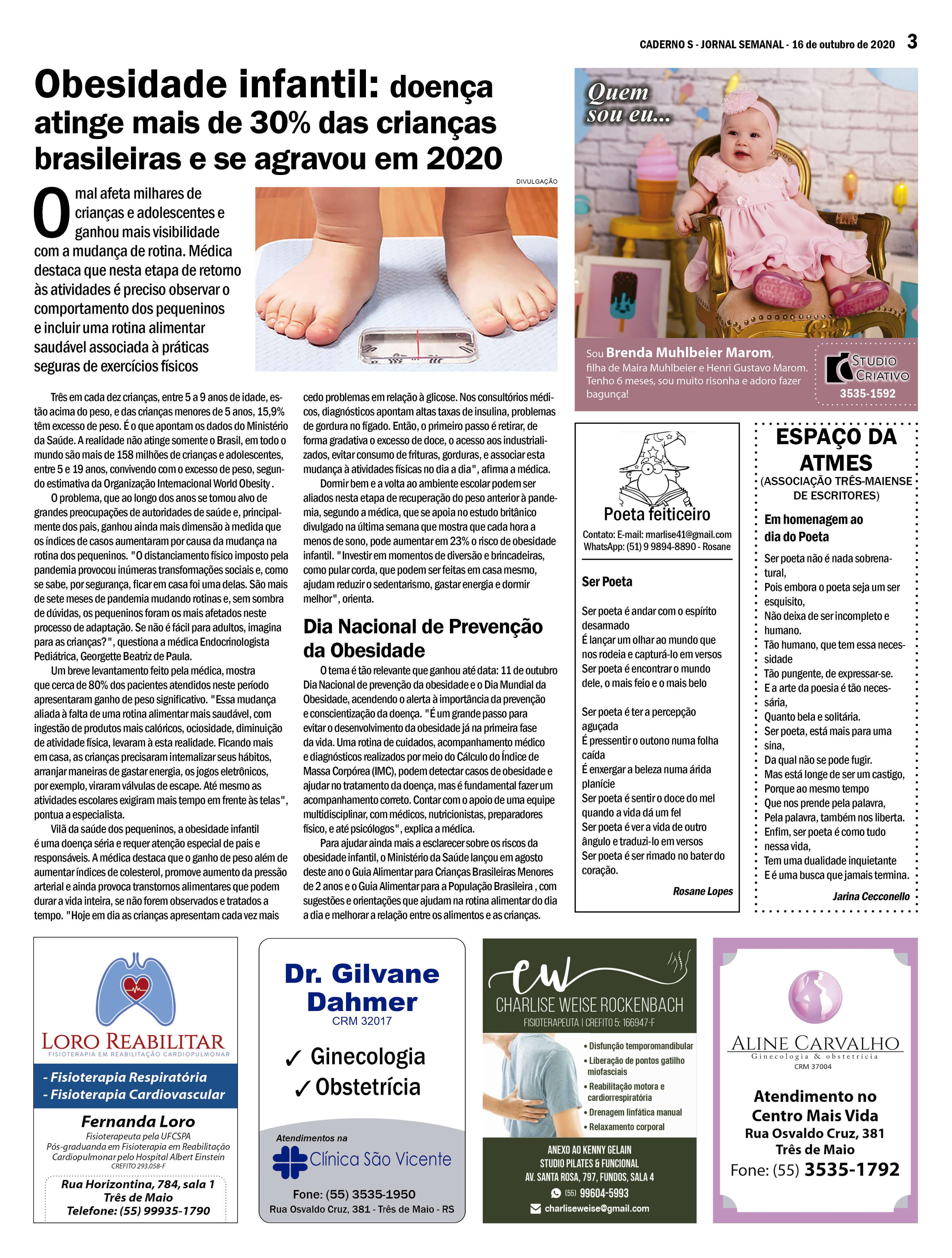 Edição 16 de outubro de 2020