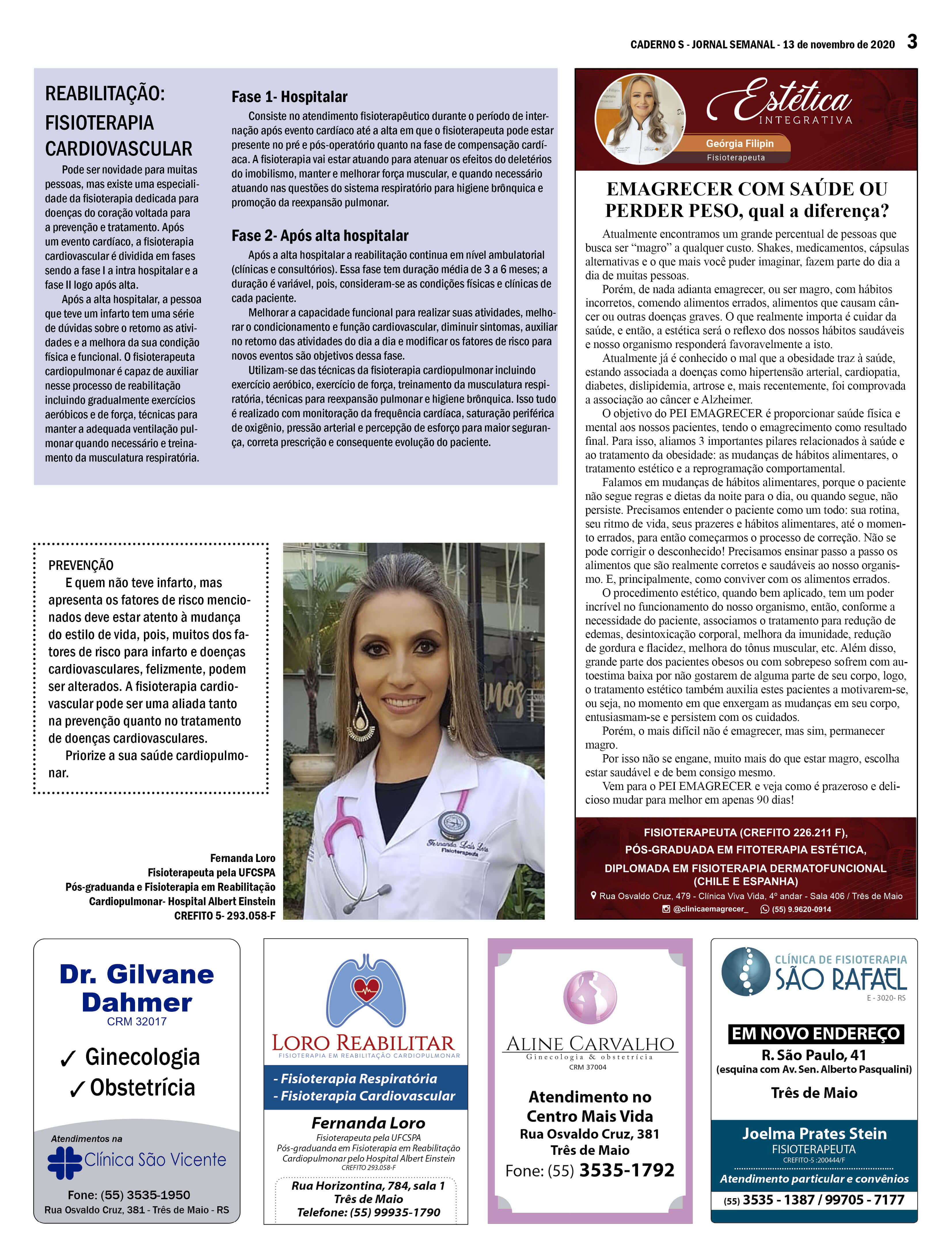 Edição 13 de novembro de 2020